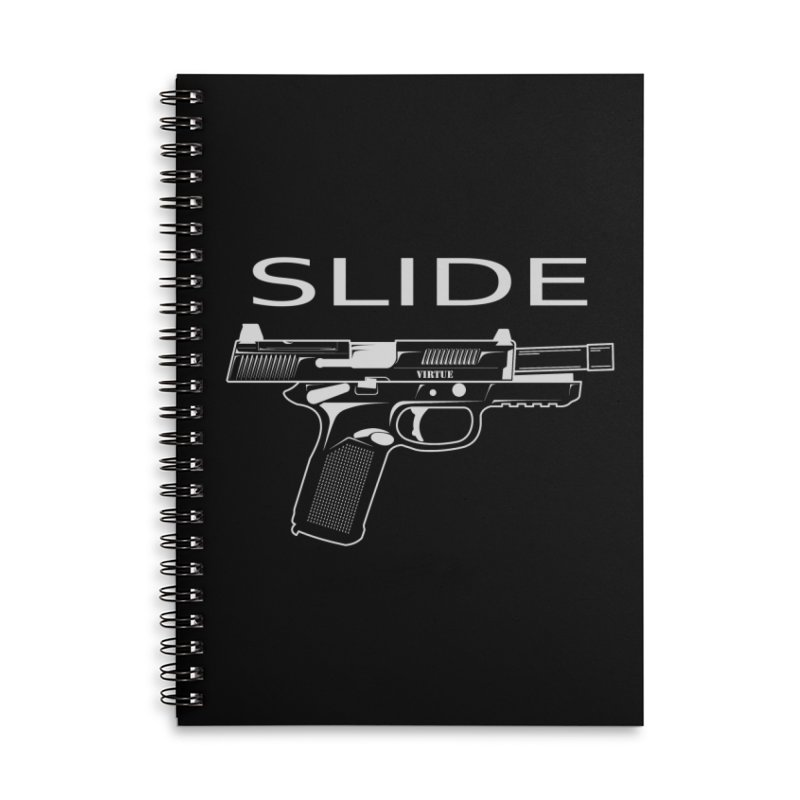 Slide Accessories Lined Spiral Notebook by Virtue - There's more to it
