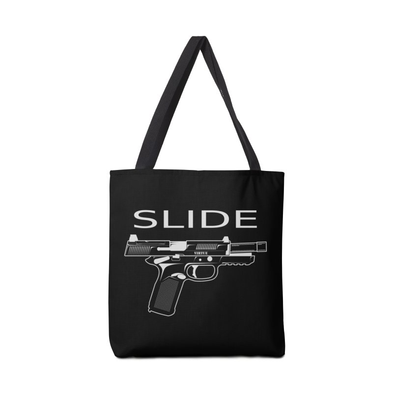 Slide Accessories Tote Bag Bag by Virtue - There's more to it