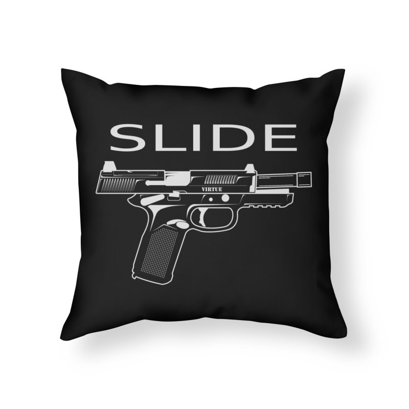 Slide Home Throw Pillow by Virtue - There's more to it