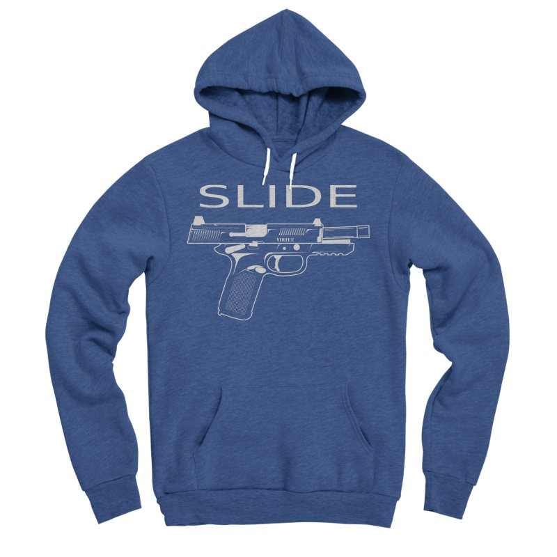 Slide Men's Sponge Fleece Pullover Hoody by Virtue - There's more to it