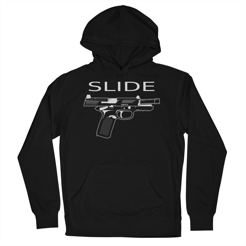 Slide Women's French Terry Pullover Hoody by Virtue - There's more to it