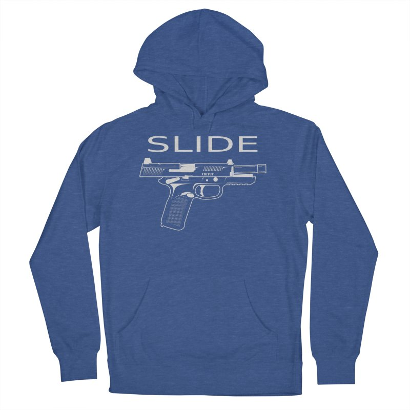 Slide Men's French Terry Pullover Hoody by Virtue - There's more to it