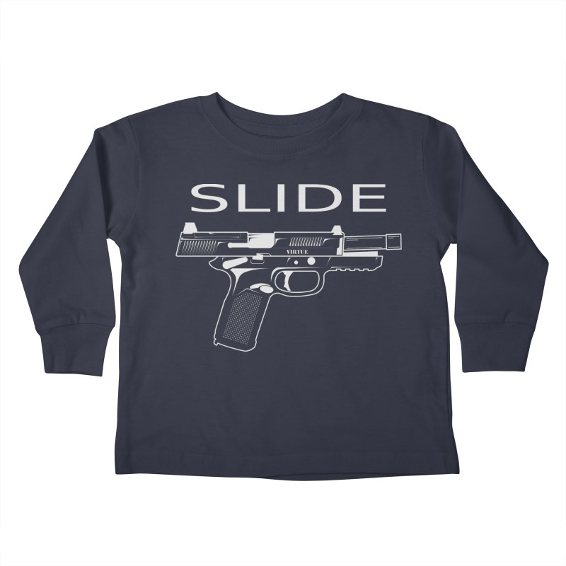 Slide Kids Toddler Longsleeve T-Shirt by Virtue - There's more to it