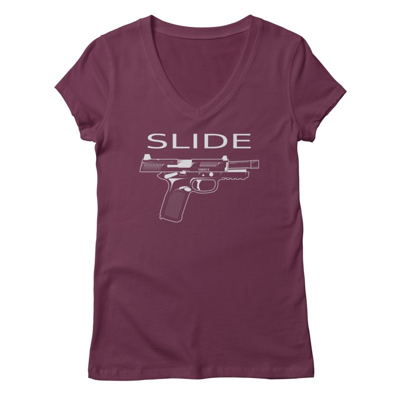 Slide Women's Regular V-Neck by Virtue - There's more to it