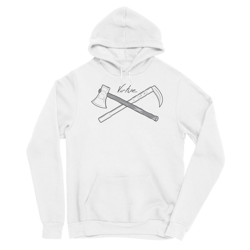 Warrior - I Am Series Men's Sponge Fleece Pullover Hoody by Virtue - There's more to it
