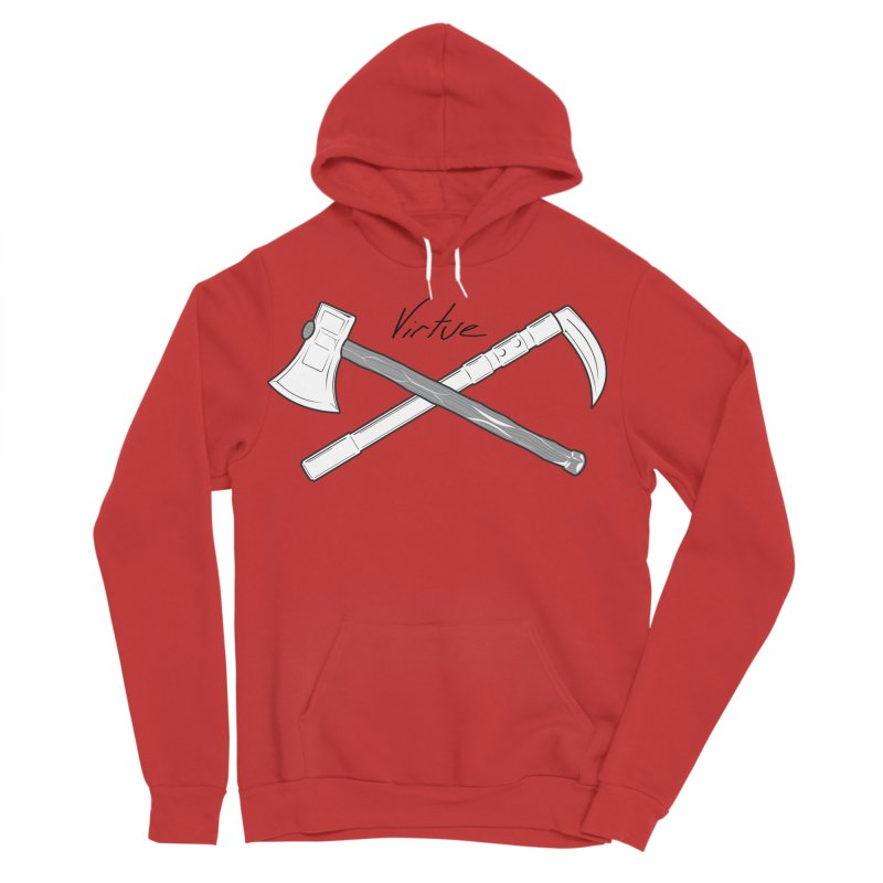 Warrior - I Am Series Women's Sponge Fleece Pullover Hoody by Virtue - There's more to it