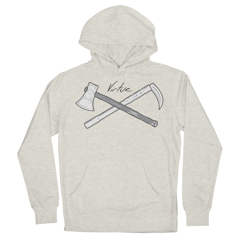 Warrior - I Am Series Women's French Terry Pullover Hoody by Virtue - There's more to it