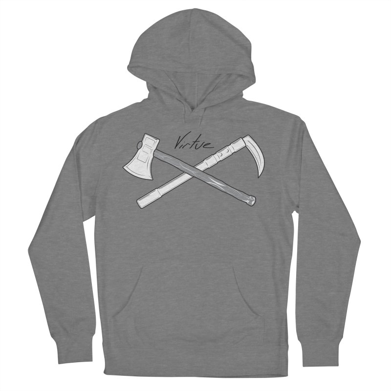 Warrior - I Am Series Men's French Terry Pullover Hoody by Virtue - There's more to it