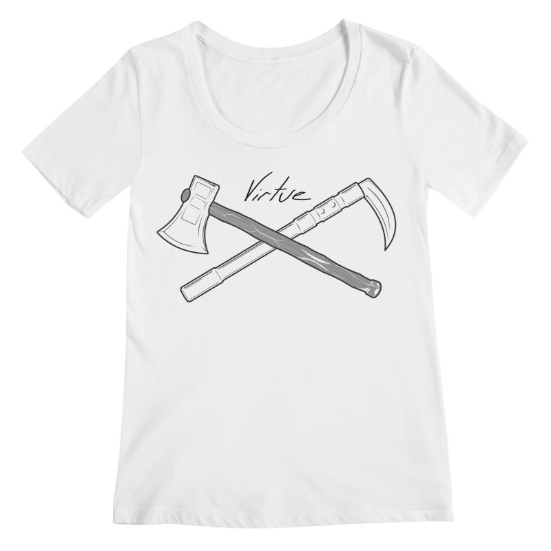 Warrior - I Am Series Women's Regular Scoop Neck by Virtue - There's more to it