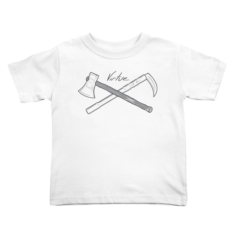 Warrior - I Am Series Kids Toddler T-Shirt by Virtue - There's more to it