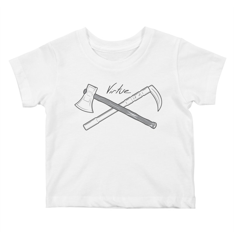 Warrior - I Am Series Kids Baby T-Shirt by Virtue - There's more to it
