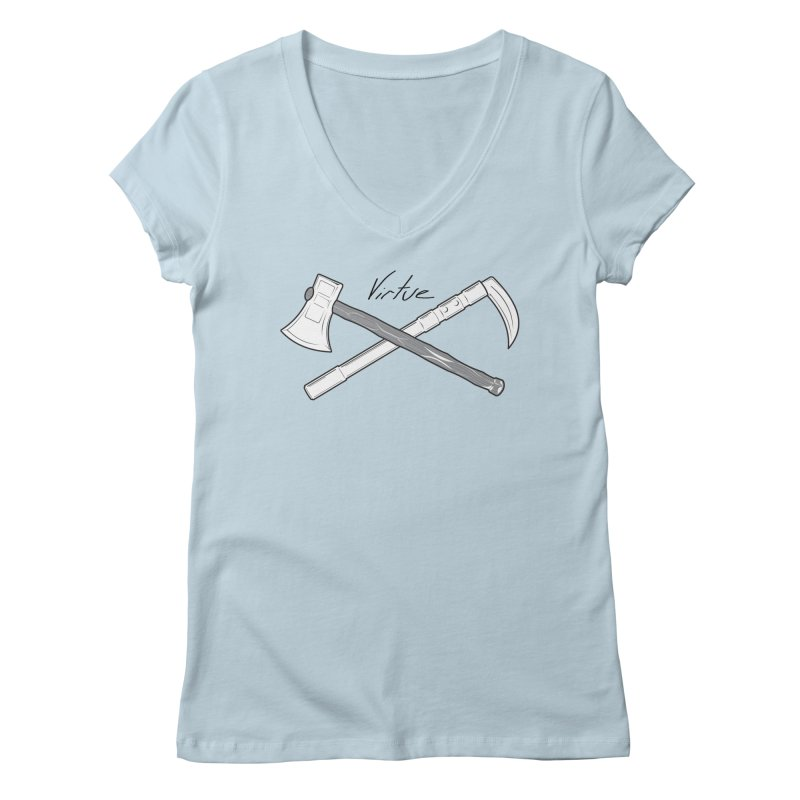 Warrior - I Am Series Women's V-Neck by Virtue - There's more to it