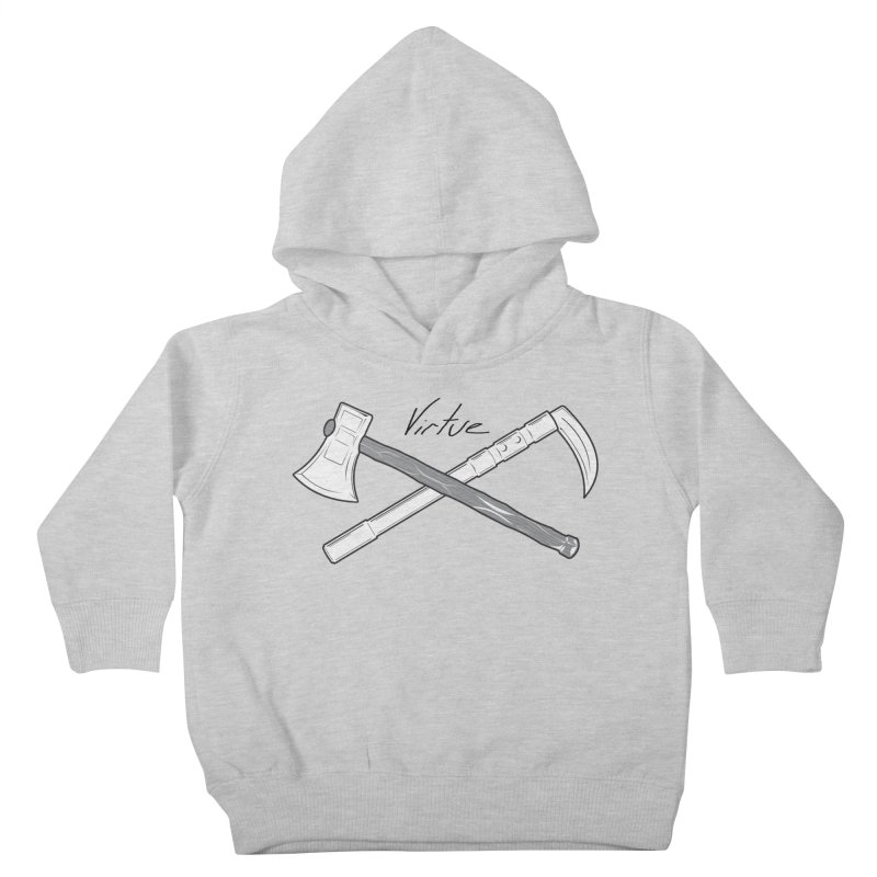 Warrior - I Am Series Kids Toddler Pullover Hoody by Virtue - There's more to it
