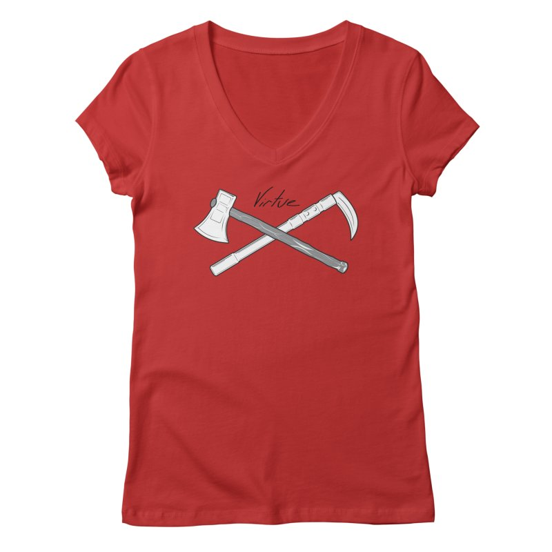 Warrior - I Am Series Women's Regular V-Neck by Virtue - There's more to it
