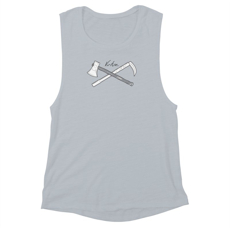Warrior - I Am Series Women's Muscle Tank by Virtue - There's more to it