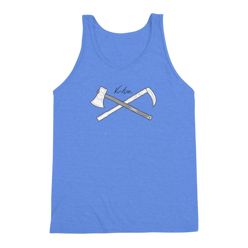 Warrior - I Am Series Men's Triblend Tank by Virtue - There's more to it