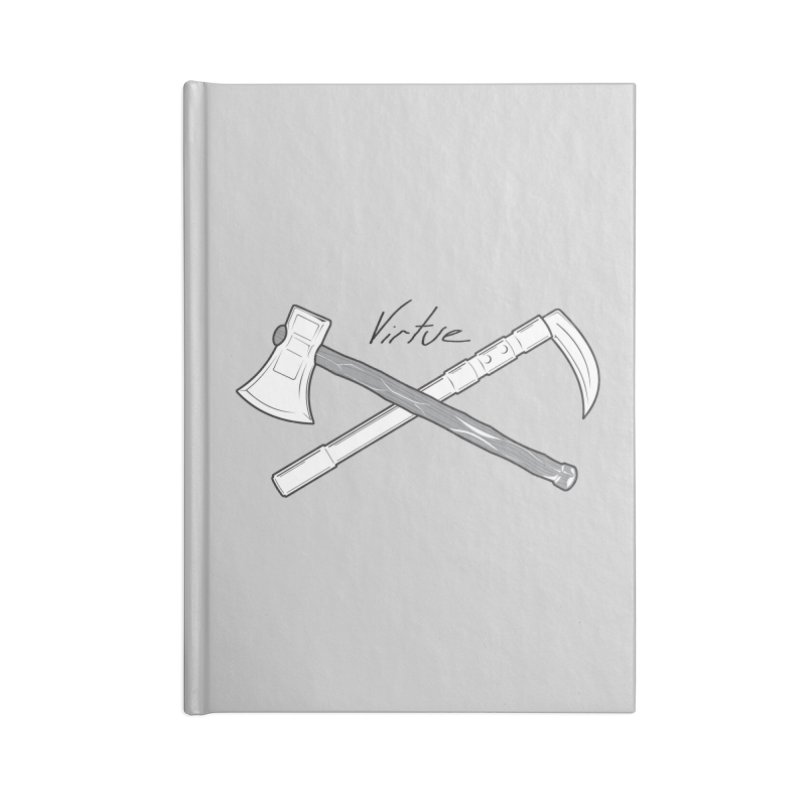 Warrior - I Am Series Accessories Blank Journal Notebook by Virtue - There's more to it