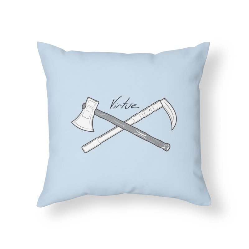 Warrior - I Am Series Home Throw Pillow by Virtue - There's more to it