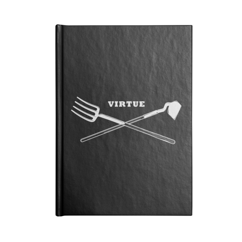 Hard Work - I Am Series Accessories Blank Journal Notebook by Virtue - There's more to it