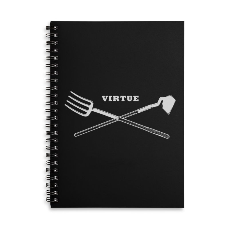 Hard Work - I Am Series Accessories Lined Spiral Notebook by Virtue - There's more to it