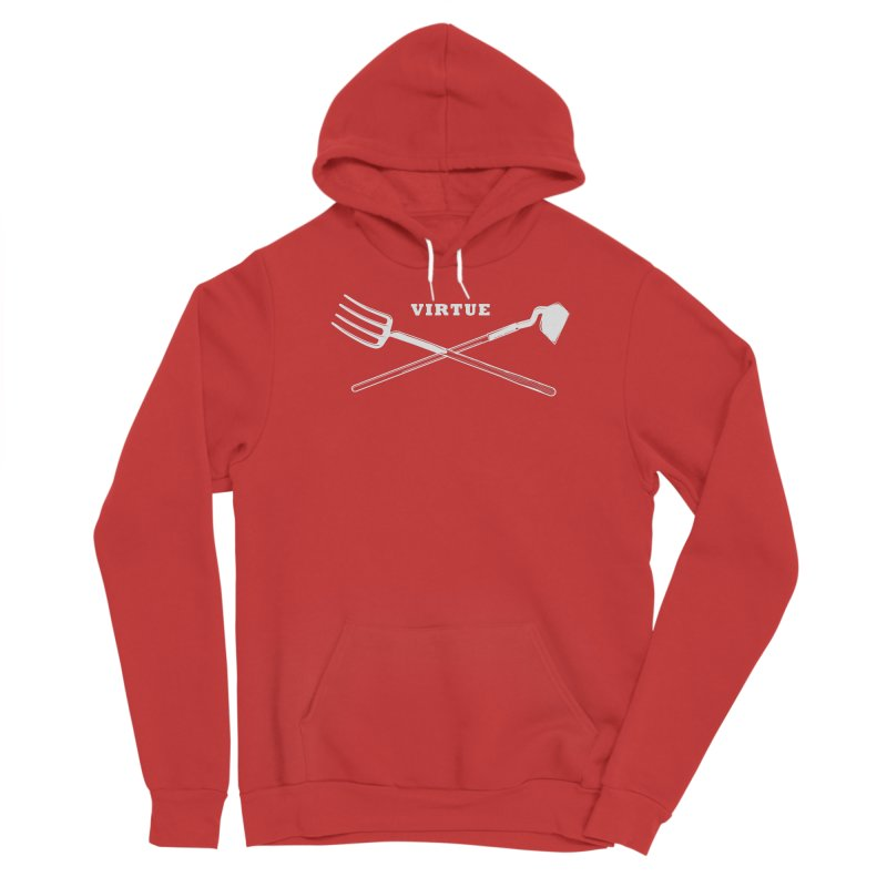 Hard Work - I Am Series Women's Pullover Hoody by Virtue - There's more to it