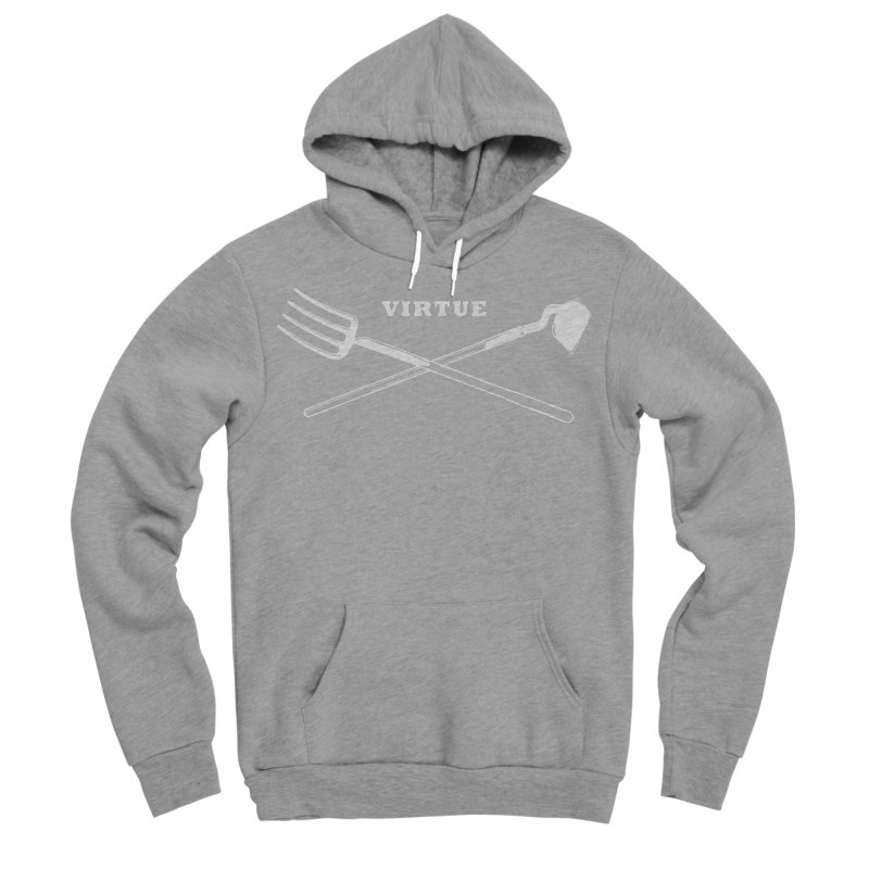Hard Work - I Am Series Women's Sponge Fleece Pullover Hoody by Virtue - There's more to it