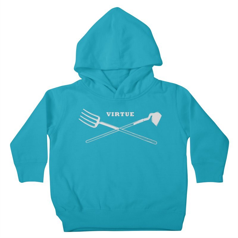 Hard Work - I Am Series Kids Toddler Pullover Hoody by Virtue - There's more to it