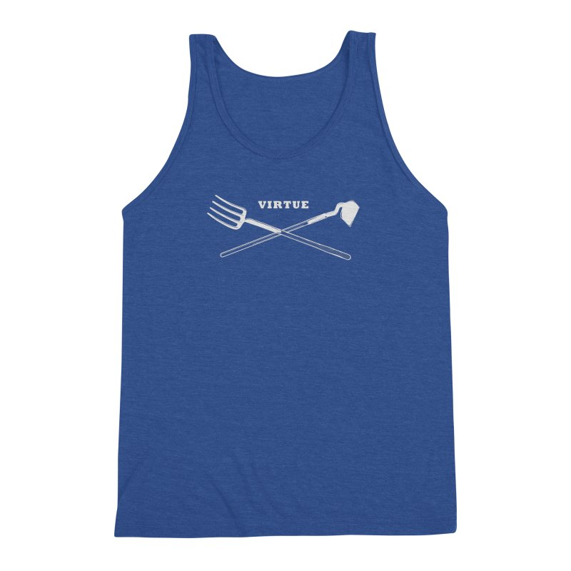 Hard Work - I Am Series Men's Tank by Virtue - There's more to it