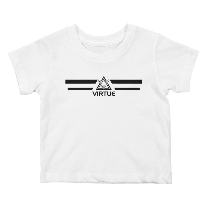 Triangles and Stripes Kids Baby T-Shirt by Virtue - There's more to it