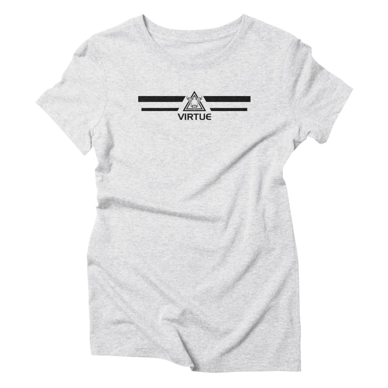 Triangles and Stripes Women's T-Shirt by Virtue - There's more to it