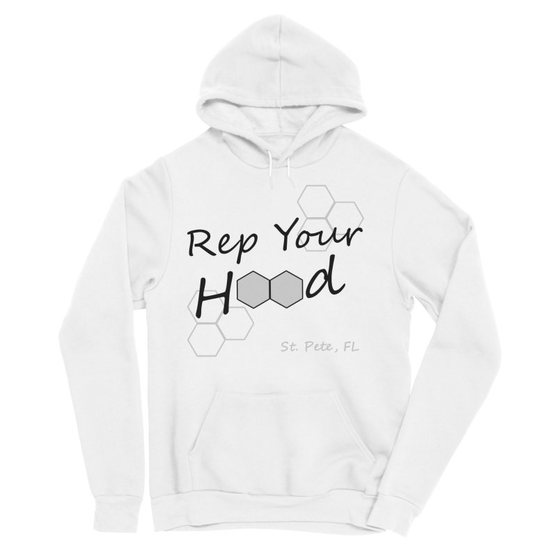 Rep Your Hood - St. Petersburg, FL Men's Sponge Fleece Pullover Hoody by Virtue - There's more to it