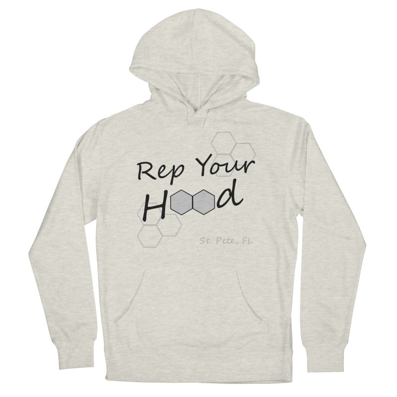 Rep Your Hood - St. Petersburg, FL Men's French Terry Pullover Hoody by Virtue - There's more to it