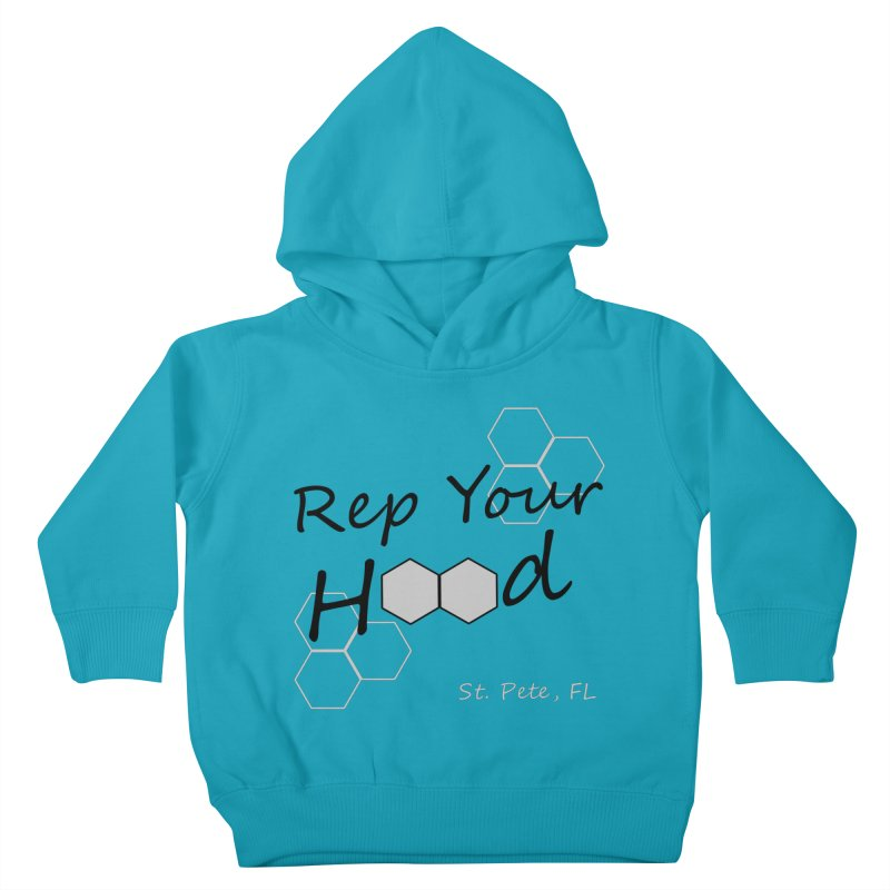 Rep Your Hood - St. Petersburg, FL Kids Toddler Pullover Hoody by Virtue - There's more to it