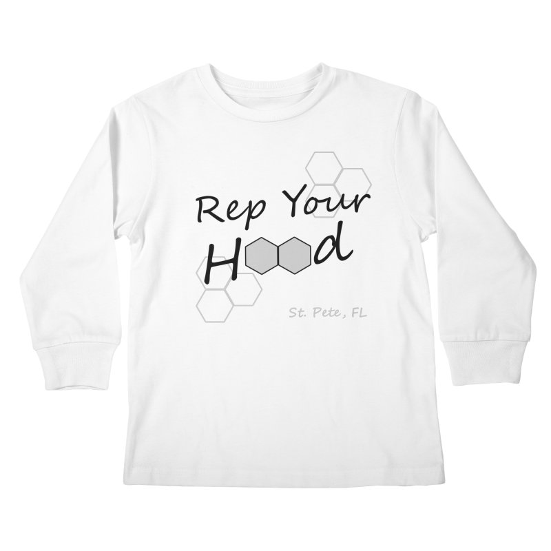 Rep Your Hood - St. Petersburg, FL Kids Longsleeve T-Shirt by Virtue - There's more to it