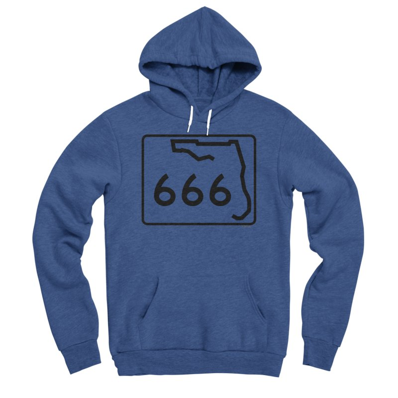 FL Highway 666 Women's Sponge Fleece Pullover Hoody by Virtue - There's more to it
