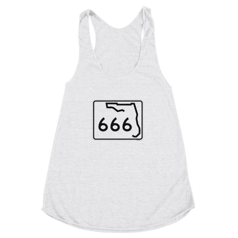 FL Highway 666 Women's Racerback Triblend Tank by Virtue - There's more to it