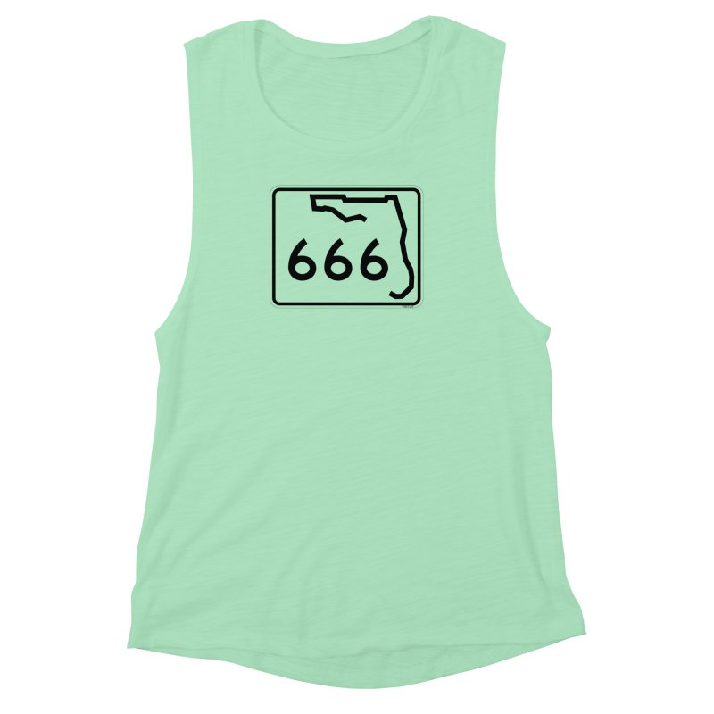 FL Highway 666 Women's Muscle Tank by Virtue - There's more to it