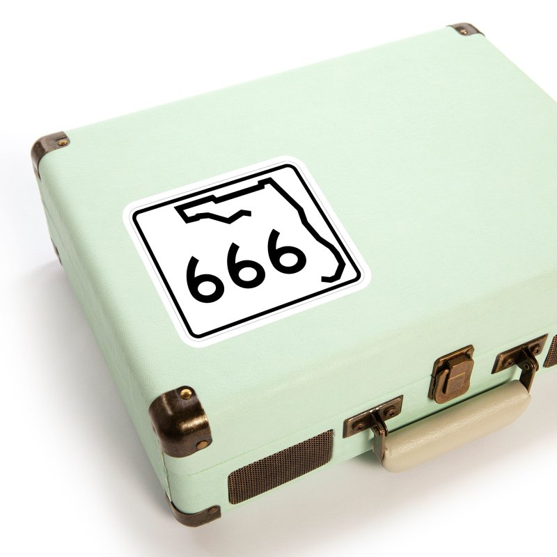 FL Highway 666 Accessories Sticker by Virtue - There's more to it