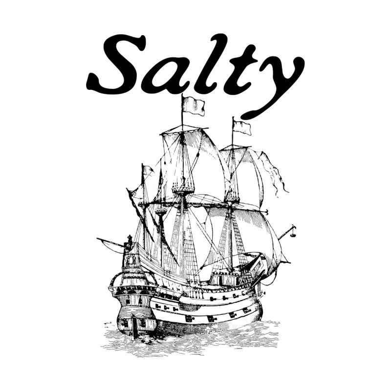Salty Men's Longsleeve T-Shirt by Virtue - There's more to it
