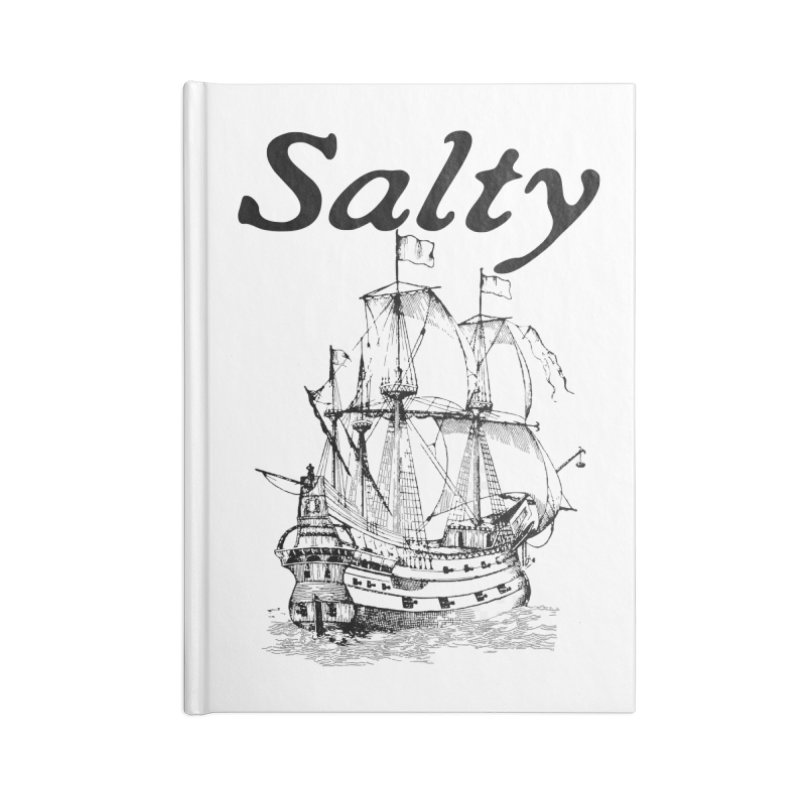 Salty Accessories Lined Journal Notebook by Virtue - There's more to it
