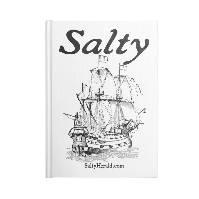 Salty Accessories Notebook by Virtue - There's more to it