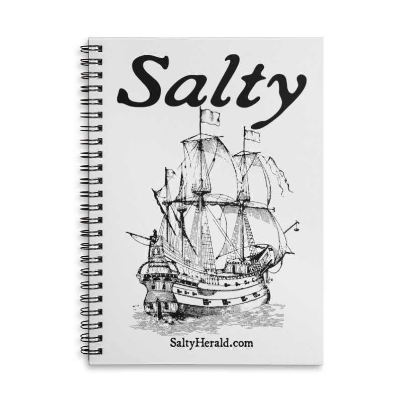 Salty Accessories Lined Spiral Notebook by Virtue - There's more to it