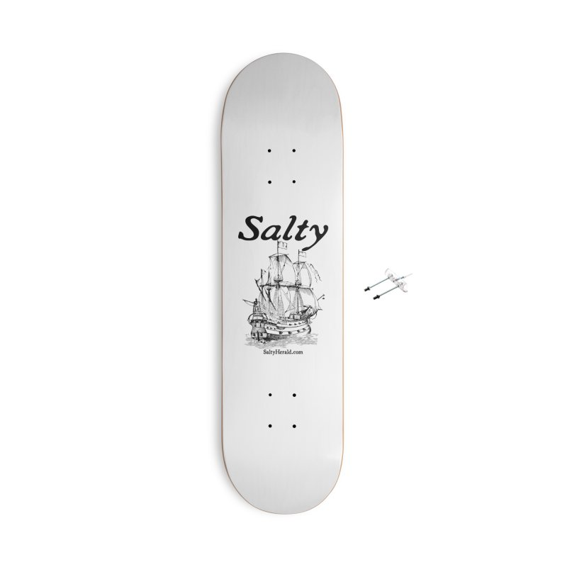 Salty Accessories With Hanging Hardware Skateboard by Virtue - There's more to it