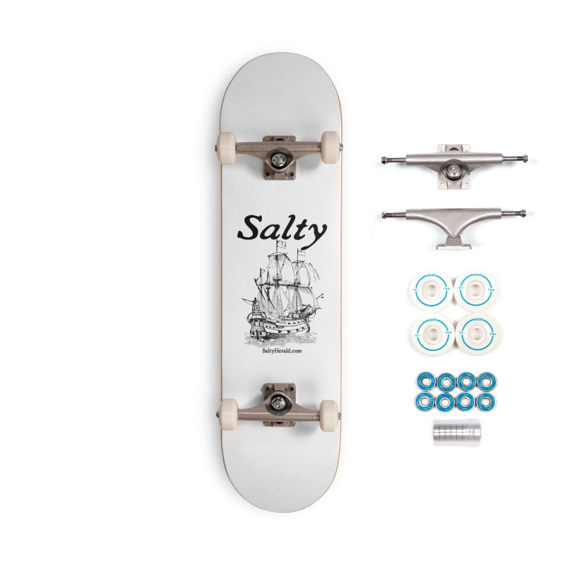 Salty Accessories Complete - Basic Skateboard by Virtue - There's more to it
