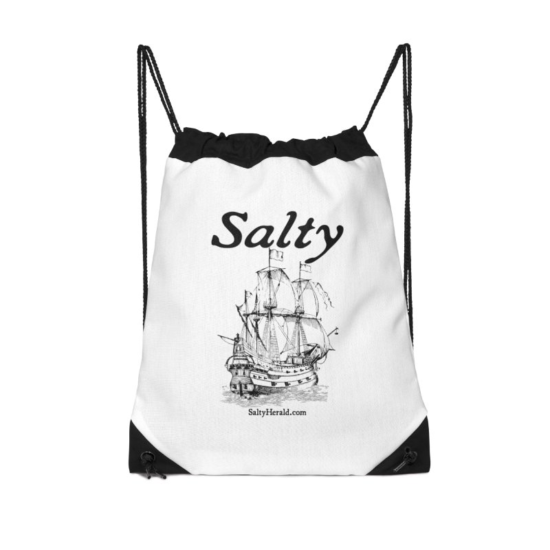 Salty Accessories Drawstring Bag Bag by Virtue - There's more to it
