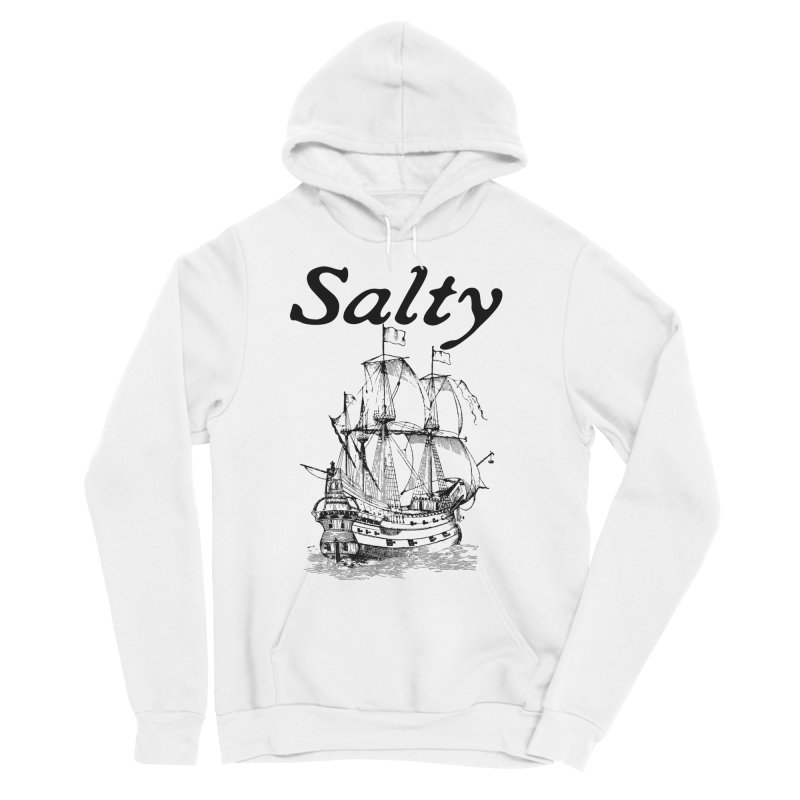 Salty Women's Sponge Fleece Pullover Hoody by Virtue - There's more to it