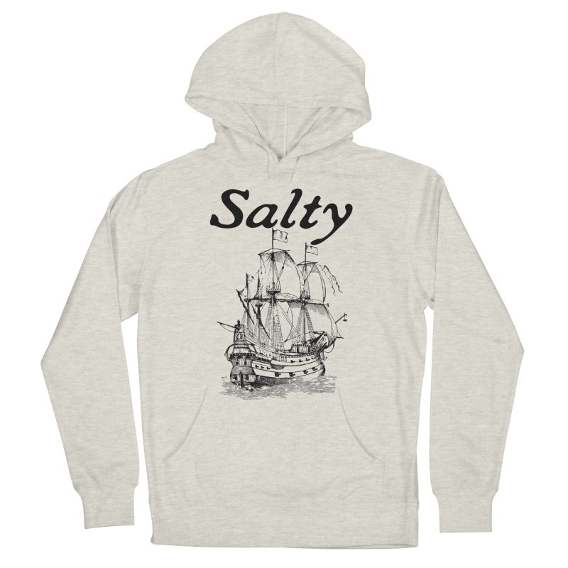 Salty Women's French Terry Pullover Hoody by Virtue - There's more to it