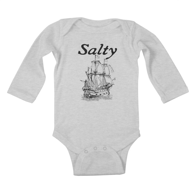 Salty Kids Baby Longsleeve Bodysuit by Virtue - There's more to it