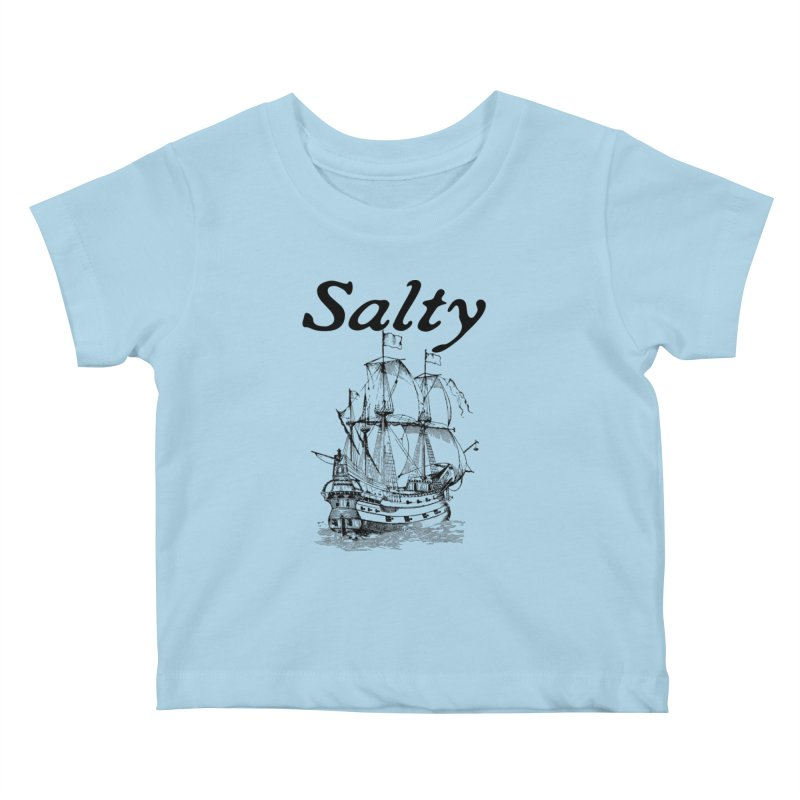 Salty Kids Baby T-Shirt by Virtue - There's more to it