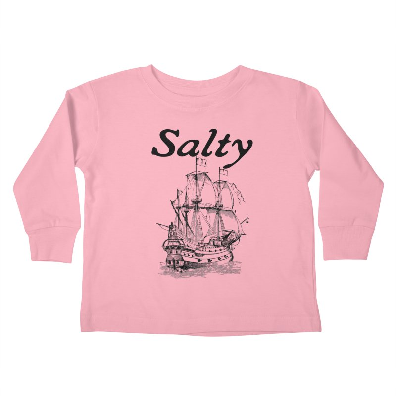 Salty Kids Toddler Longsleeve T-Shirt by Virtue - There's more to it
